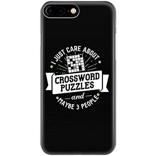 - Funny Gift For Crossword Puzzles Lovers I Just Care About - Phone Case Fits Iphone 6 6s 7 8