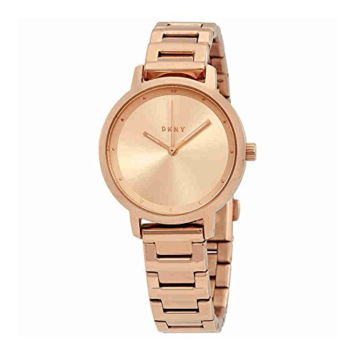 DKNY Women's 'The Modernist' Quartz Stainless Steel Casual Watch, Color:Rose Gold-Toned (Model: NY2637)