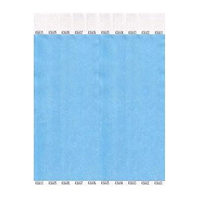 Tyvek Wristbands Plain Sky Blue Box 1000 Estimated Price £27.98 -