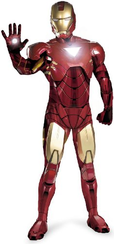 Disguise Marvel Men's  Iron Man Mark 6 Adult,Multi,XL (42-46) Costume