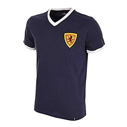 COPA Football - Camiseta Retro Escocia años 1960 (XXL)