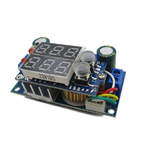 Exiron MPPT Solar Panel Controller 5A DC-DC Step-down CC/CV Charging Module LED Display