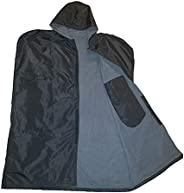 Personal Football Sideline Cape with Large Hood and Inside Pocket - 100% Waterproof Coat for Youth Players