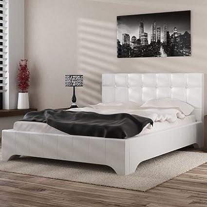 Camas y muebles-Cama de dibujo Levante, color blanco: Amazon.es: Hogar