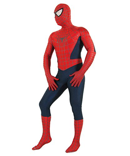 [Adult Red Spiderman Costume Cosplay Zeantai XXX-L] (Spiderman Bodysuit)