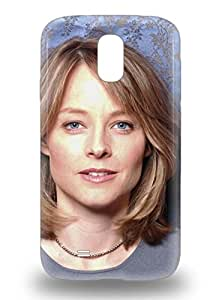 Protection 3D PC Case For Galaxy S4 3D PC Case Cover For Galaxy Jodie Foster American Female Jodie F House Of Cards The Silence Of The Lambs ( Custom Picture iPhone 6, iPhone 6 PLUS, iPhone 5, iPhone 5S, iPhone 5C, iPhone 4, iPhone 4S,Galaxy S6,Galaxy S5,Galaxy S4,Galaxy S3,Note 3,iPad Mini-Mini 2,iPad Air )