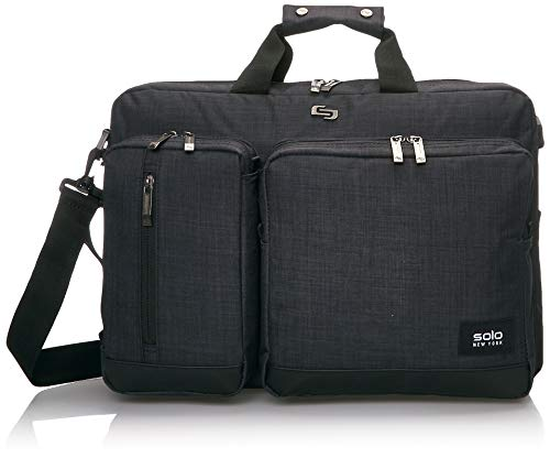 Solo Duane 15.6 Inch Laptop Hybrid Briefcase, Converts to...