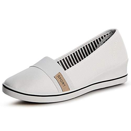 Mocassins Femmes Femmes Topschuhe24 Topschuhe24 Chaussures Blanc Chaussures Mocassins 7T1qwnn5W