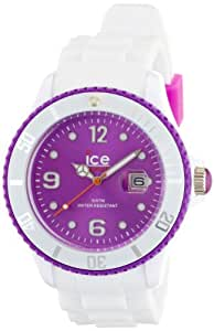 Ice Watch Men's Purple Dial Silicone Band Watch - SI.WV.B.S.11