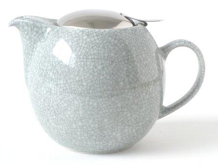 Bee House 26 Ounce Teapot Premium Colors (Crackle Blue)