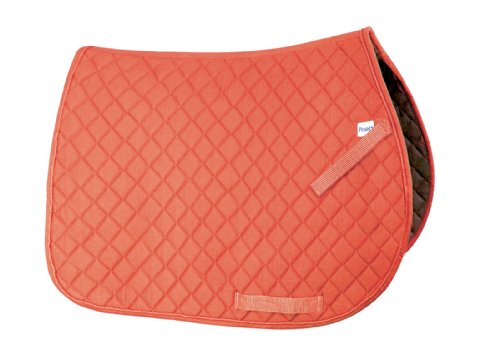 Perri's Leather Orange Pony Everyday Saddle Pad by Perris Leather
