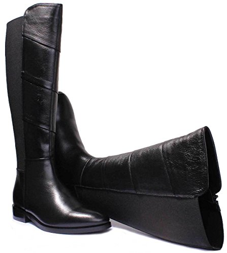 Justin Leather Boots 6 UK Black Mila Black Women Reece Matt rFHrxZA