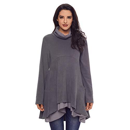 Las Casual Shirt t Cxq Tapas Grey De Suelta Camiseta Mujeres f6I6qwYU