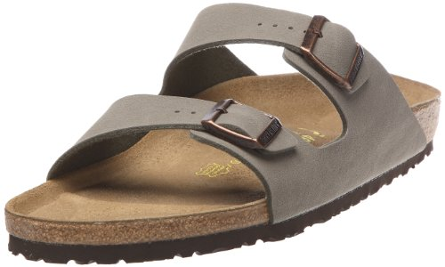 Birkenstock Unisex Arizona Stone Sandals - 8-8.5 B(M) US Women by Birkenstock