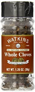 Watkins All Natural Gourmet Spice, Whole Cloves, 1.26 Ounce