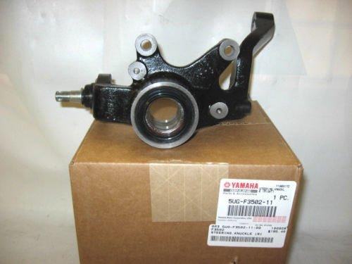 Yamaha 5UG-F3501-12-00 Steering Knuckle (L); 5UGF35011200 Made by (00 Steering Knuckle)