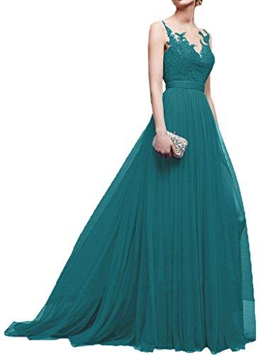 Promgirl House - Robe - Trapèze - Femme -  turquoise - 50