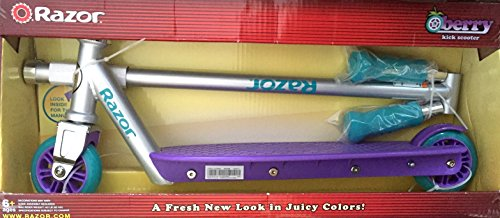 Razor Berry Kick Scooter, Purple/Teal