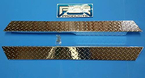 Diamond Plate Full Side Rocker Panels for Club Car Precedent Golf Carts Custom ()