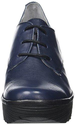 FLY Femme Yaua699 London Escarpins Navyblack Bleu r5trTwq