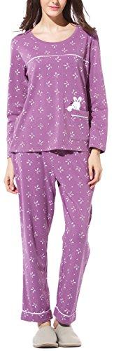 Womens Cute Cotton Pants - 2
