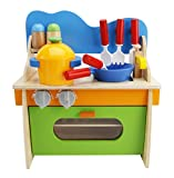 Childs Kitchen Play Set Lewo Children Wooden Play Kitchen Set Pretend Role Play Cook Learning Toys for Kids