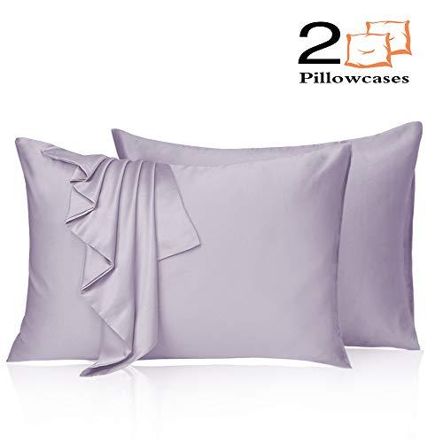 Amazon Com Leccod 2 Pack Silk Satin Pillowcase For Hair