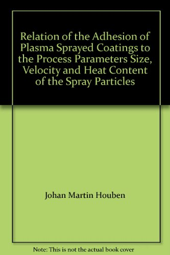 (Relation of the Adhesion of Plasma Sprayed Coatings to the Process Parameters Size, Velocity and Heat Content of the Spray Particles)