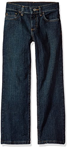 Wrangler Authentics Boys' Straight Fit Stretch Jean, moonlight blue, 18 (Authentic Jean Fit)