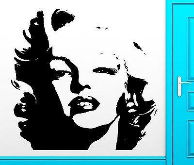 Wall Sticker Marilyn Monroe Movie Cinema Cult Film Cult Classic Hot Sexy (vs2538)