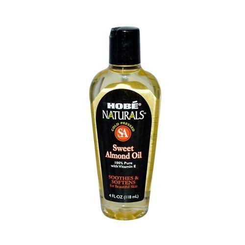 2 Packs of Hobe Labs Hobe Naturals Sweet Almond Oil - 4 Fl Oz