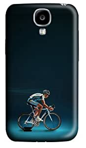 Bicycles Polycarbonate Hard Case Cover for Samsung Galaxy S4/Samsung Galaxy I9500 3D