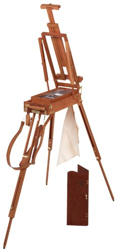 Martin Jullian Original-Style Half-Size Wooden French Sketch Box Easel by Martin Furniture
