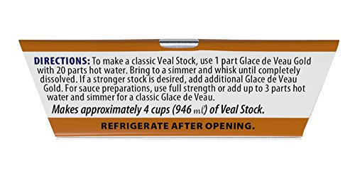 More Than Gourmet Glace De Veau Gold, Reduced Veal Stock, 1.5-Ounce Packages (Pack of 6)