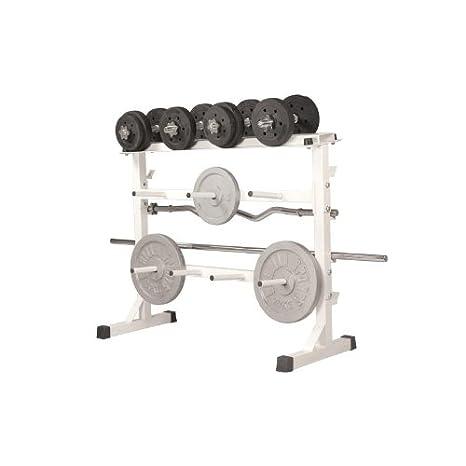 Gorilla Sports GS019 - Soporte de peso libre: Amazon.es: Deportes y aire libre