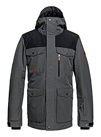 Amazon.com: Quiksilver Mens Raft 10K Snow Ski Snowboard ...