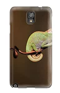CharlesRaymondBaylor Case Cover Protector Specially Made For Galaxy Note 3 Baby Chameleon