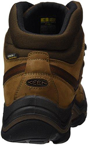 Keen Men's Galleo Mid Wp High Rise Hiking Shoes, Grün (Black/Greenery) Brown (Cognac/Dark Chocolate Cognac/Dark Chocolate)