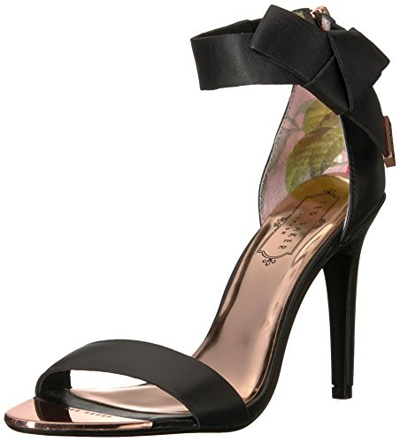 Ted Baker Women's Saphrun Sandal, Black, 8 B(M) US by Ted Baker