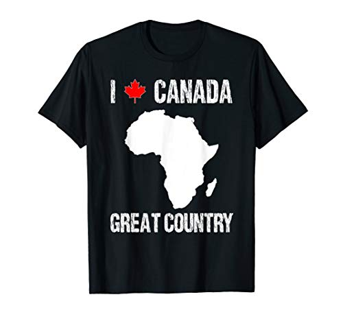 Funny Geography Tshirt Gift For Teachers Canada Prank Mix Up T-Shirt