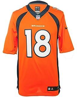 Amazon.com : Nike Denver Broncos Peyton Manning Jersey (Brilliant ...