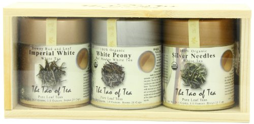 (The Tao of Tea White Tea Sampler, 3-Count Box)