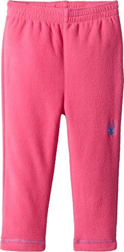 Spyder Girls Fleece - Spyder Girls' Bitsy Speed Fleece Pant, Taffy Pink/Blue Ice, Size 7