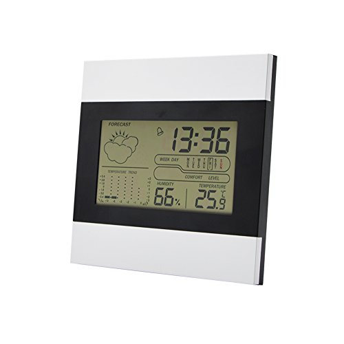 Digital Hygrometer Monitor,Hygrometer&Thermometer,Indoor Wireless Hygrothermograph, Temperature