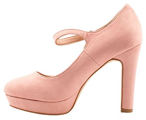 Elara - Tira de tobillo Mujer Pink Atlanta