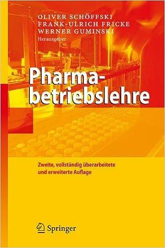 Book Pharmabetriebslehre