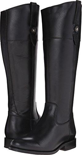 FRYE Women's Jayden Button Tall-SMVLE Riding Boot,  Black, 9 M US