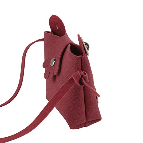 8 Christmas Handbags Shoulder Purse Holder Yrs Wallet Great for Mini Clutch Gift Lovely Crossbody Birthday Phone 2 Red Frog Candies Case Design Toddlers Bags Kids Small Cell wqRSfS