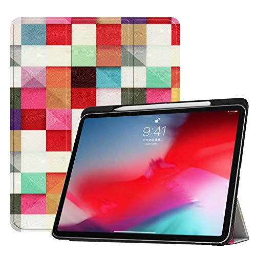 iPad Pro 11 Inch 2018 with Pencil Holder, Coopts Slim Shell [Support Magnetically Attach Charge/Pair] Stand Cover Strong Magnetic Adsorption Auto Wake/Sleep for New iPad Pro 11