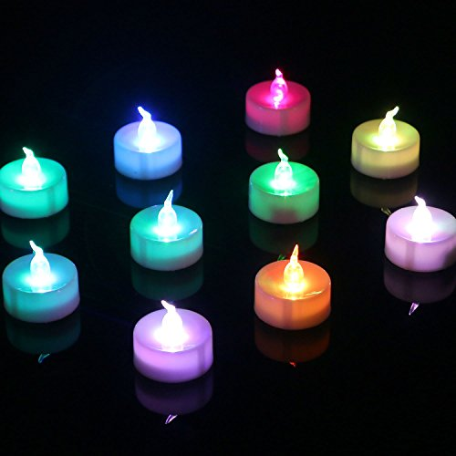 Led Light Changing Candles - 4